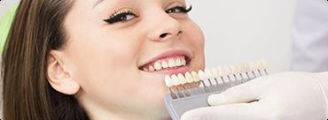 علاج الأسنان / طب الأسنان التجميلي